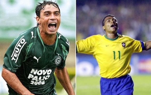 Alex Dias e Romário promovem futel solidário