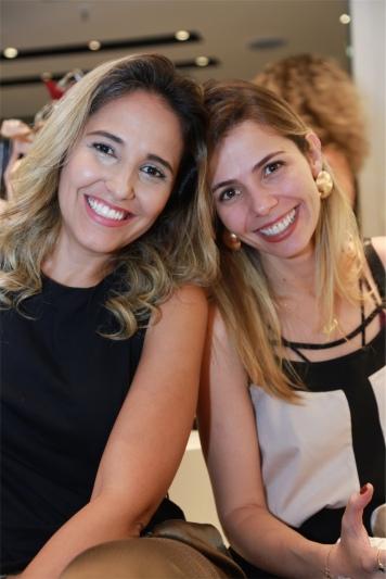Ana Juks e Ludimila Junqueira