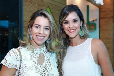 Cecilia Castro e Jaqueline Moura