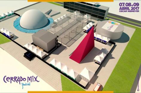 Cerrado Mix Festival 2017 - Mapa do Evento - 1