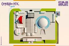 Cerrado Mix Festival 2017 - Mapa do Evento - 2