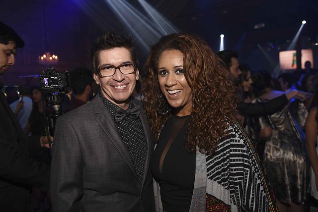 Fernando Parrode e Elaine Moura