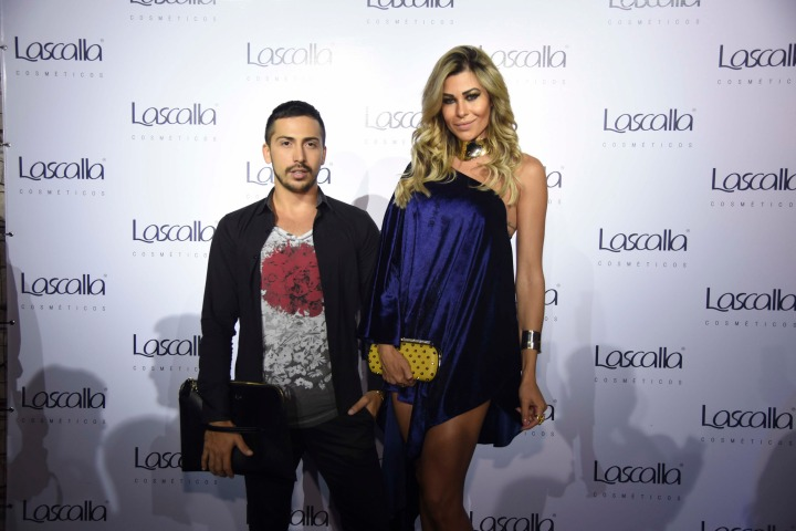 Leo Capellete e Priscila Nascimento