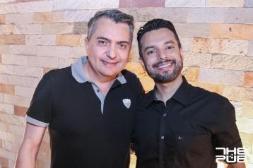 Os empresários Fernando Carvalho e Patrick Costa
