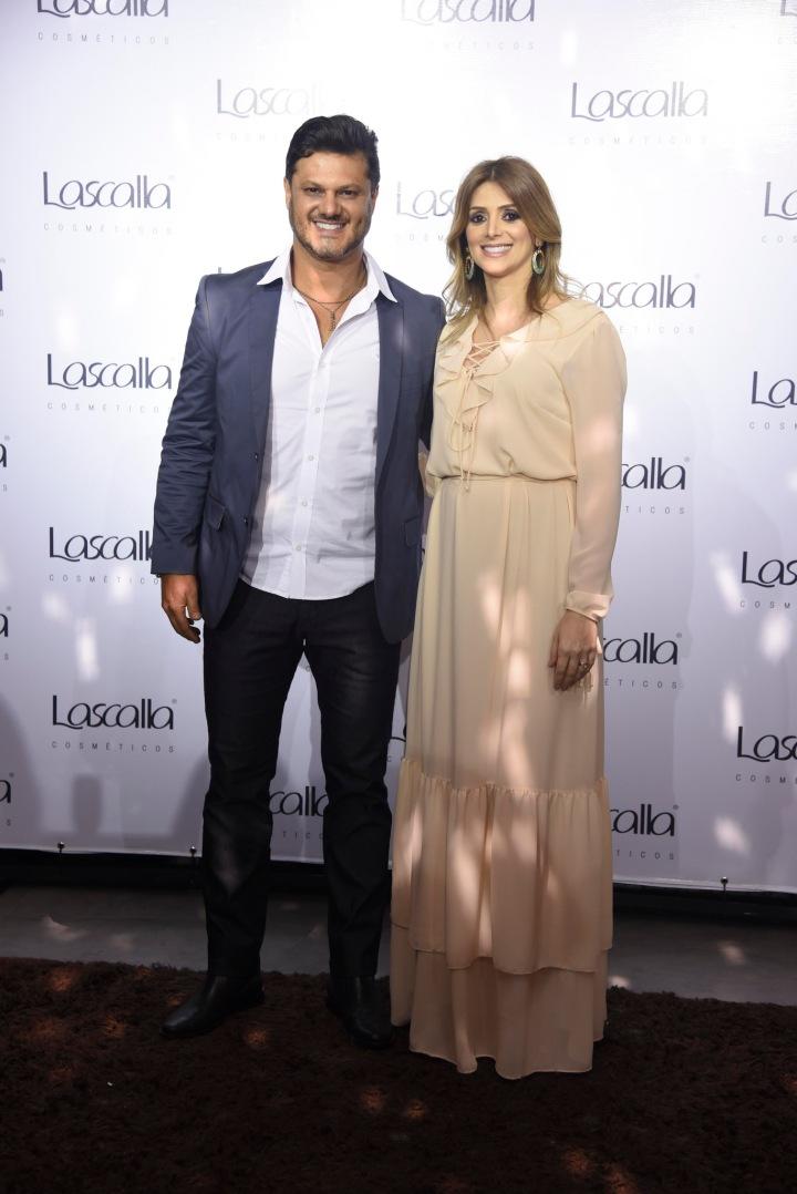 Os ismãos Rildo e Regina Lasmar
