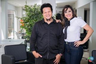 Os empresários Lair Bellô e Paula Cornélio inauguram o - Studio Bellô Hair Design - Terça-feira dia 04 de Abril.