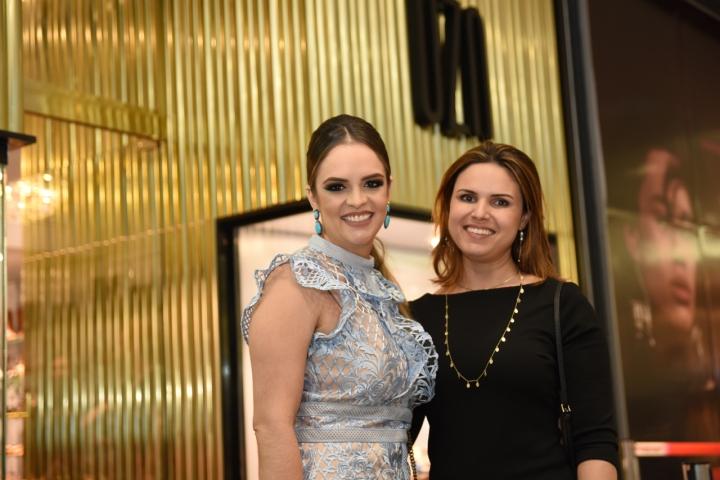 A médica e empresária Fabiana Oliveira e a cerimonialista Fernanda Neves