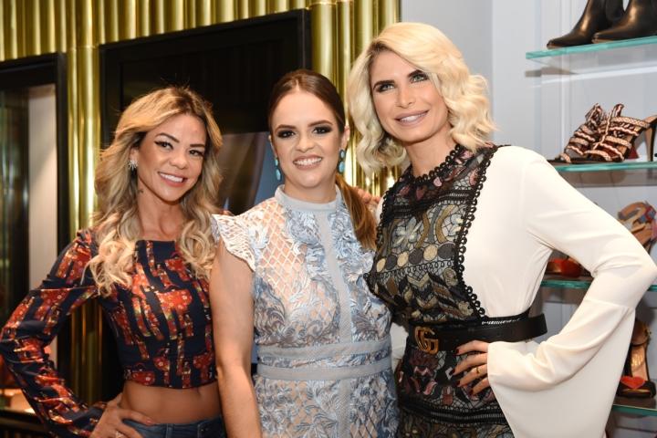 Ana Flávia Guimarães, Fabiana Oliveira e Pricylla Pedrosa