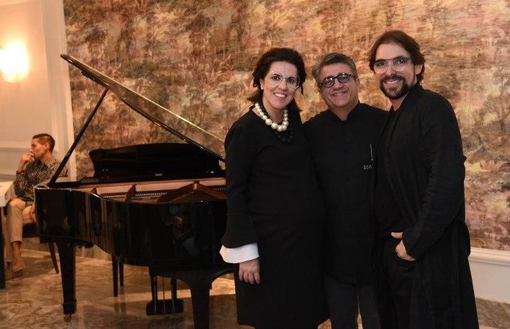 Camila Gurgel, Fernando Hanna e Alexandre Lozi