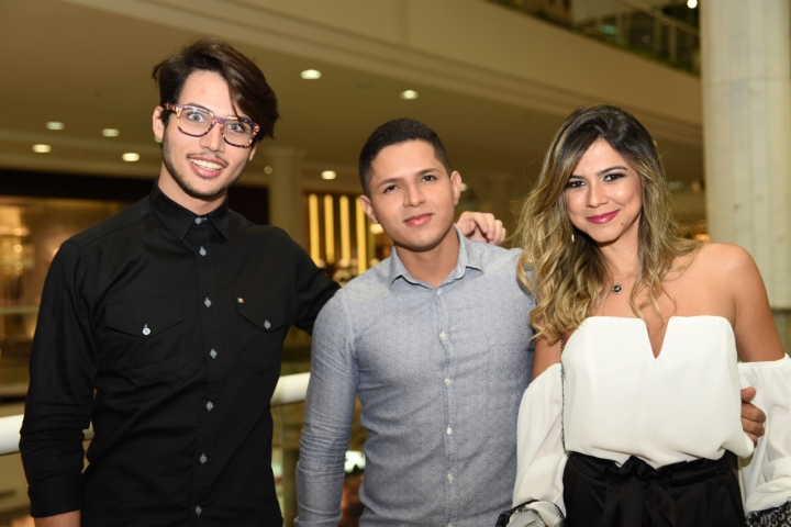 Edy Junio Assis, Fabricio Teixeira e Monallysa Borges