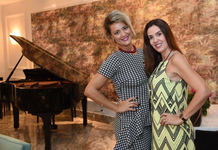 Patrícia Leite e Debora Pinheiro