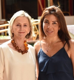 As arquitetas Sheila Podestá e Eliane Martins