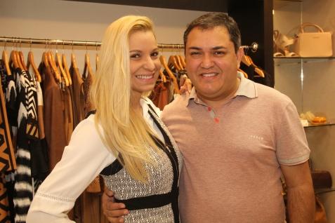 Adriana Arouca e Fausi Humberto