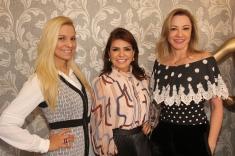 Adriana Arouca, Silvia Umbelino e Auriani Rissi