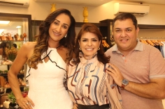 Lara Costa, Silvia Umbelino e Fausi Humberto