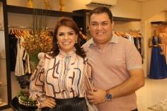 Silvia Umbelino e Fausi Humberto