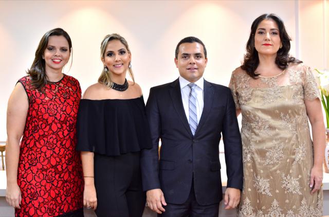 As advogadas Ana Carolina Garcia Karine Carvalho e Viviane Lima receberão o Juiz de Direito Rodrigo Ferreira Castro para palestra dia 16 na sede da CANMEC & INAMEC.