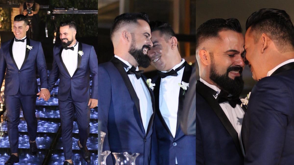 Casamento dos empresários Weder e Dieuler entra para as estatísticas LGBT em Anápolis