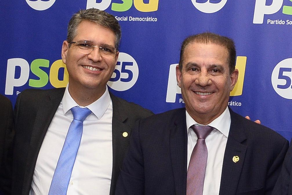 Deputado Federal Francisco Jr e Senador Vanderlan Cardoso